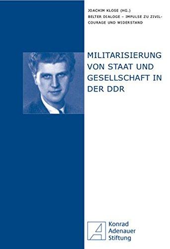 9783865839633: Militarisierung von Staat und Gesellschaft in der DDR