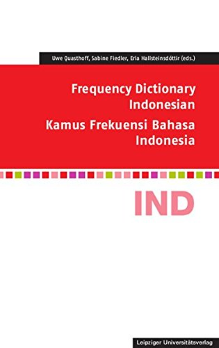 9783865839657: Frequency Dictionary Indonesian