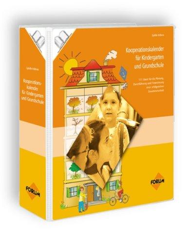 9783865861092: Kooperationskalender für Kindergarten und Grundschule, 2 Ordner m. CD-ROM