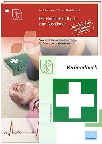 9783865864666: Premium-Ausgabe Notfall-Handbuch plus Verbandbuch