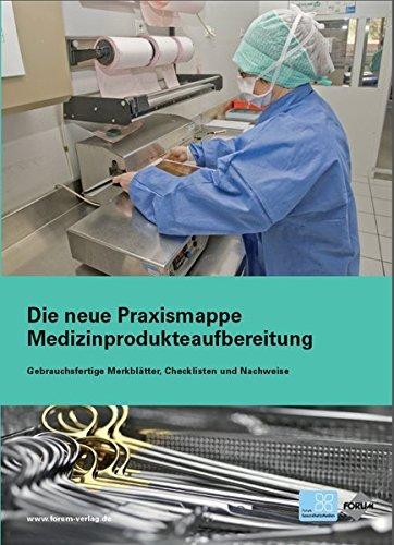Die neue Praxismappe Medizinprodukteaufbereitung