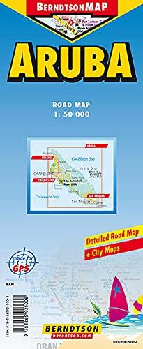 9783865925008: Country Map of Aruba