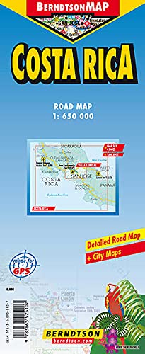 9783865925107: Costa Rica gps berndtson