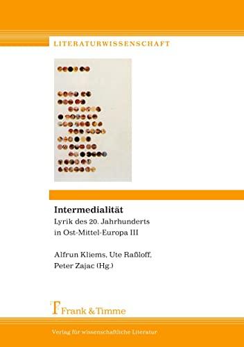 Intermedialität: Alfrun Kliems