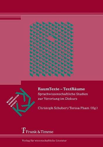 9783865963642: RaumTexte - TextRäume