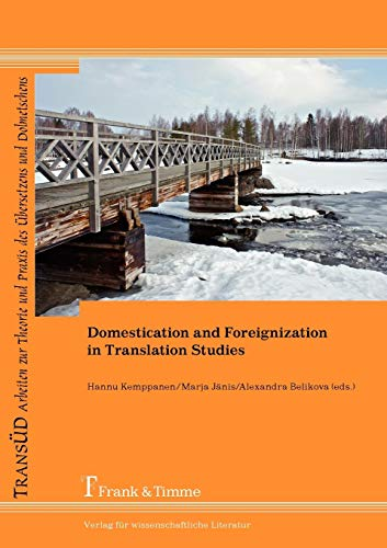9783865964038: Domestication and Foreignization in Translation Studies