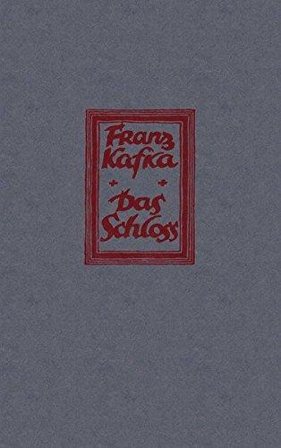 9783866001107: Historisch-Kritische Ausgabe sämtlicher Handschriften, Drucke und Typoskripte. Faksimile-Edition: Das Schloss