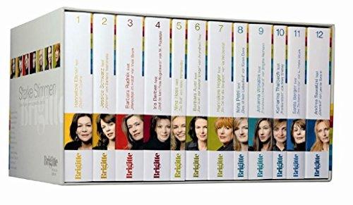 Starke Stimmen 2: Starke Frauen lesen ausgewählte Literatur (41 CDs): Brigitte-Redaktion (Hrsg.)