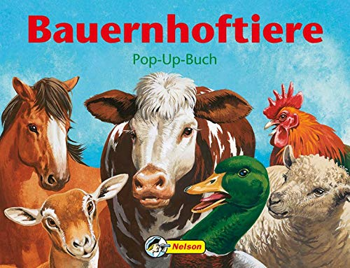 9783866062313: Bauernhof-Tiere. Ein Popup-Bilderbuch