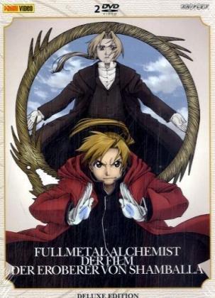 9783866075597: Fullmetall Alchemist, Der Film, 2 DVD-Videos, deutsche u. japanische Version