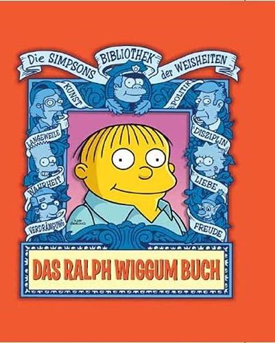 9783866075610: Simpsons: Das Ralph Wiggum Buch