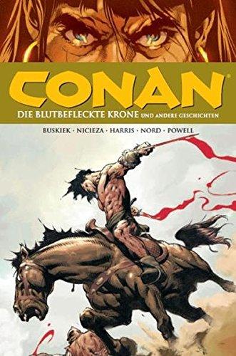 9783866076457: Conan 08: Die blutbefleckte Krone und andere Geschichten
