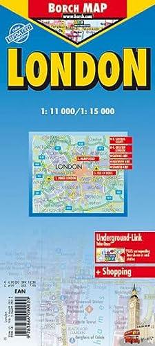London Laminated Map (B&B): Berndtson & Berndtson