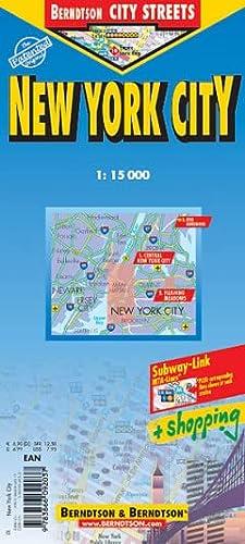 9783866092037: New York City Streets Laminated Map