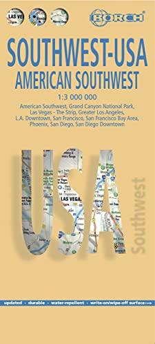 9783866093195: Laminated American Southwest-USA 2 Map (English Edition)