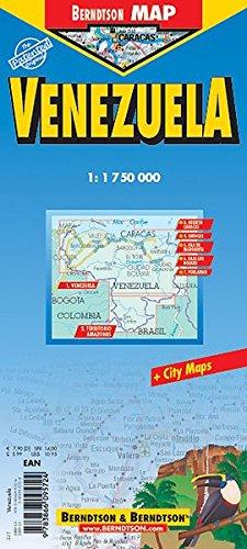 9783866095724: Venezuela Laminated Map (B&B)