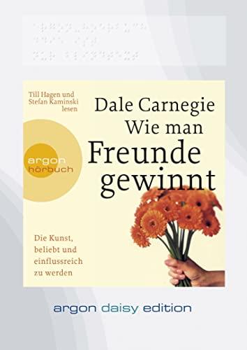 9783866106697: Wie man Freunde gewinnt (DAISY Edition): Die Kunst, beliebt und einflussreich zu werden