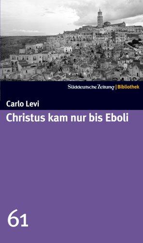 9783866155114: Christus kam nur bis Eboli