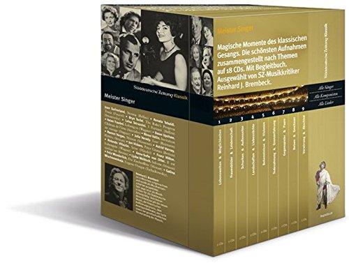 9783866157415: Meister Singer, Magische Momente des klassischen Gesangs, 18 Audio-CDs + Begleitbuch