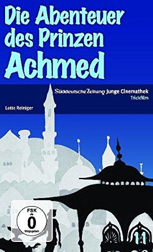 Die Abenteuer des Prinzen Achmed, 1 DVD - Reiniger Lotte