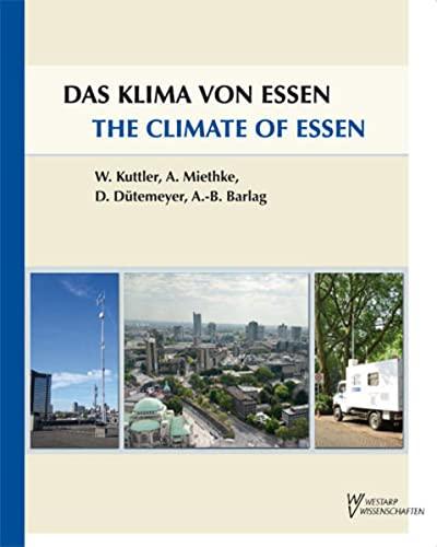 9783866170506: Das Klima von Essen / The Climate of Essen