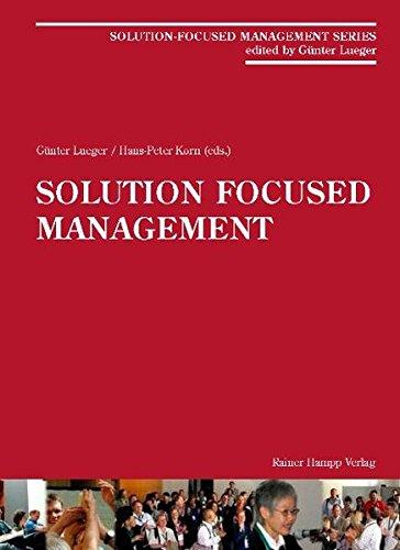9783866180987: Solution-Focused Management