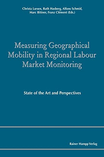 9783866186576: Measuring Geographical Mobility in Regional Labour Market Monitoring