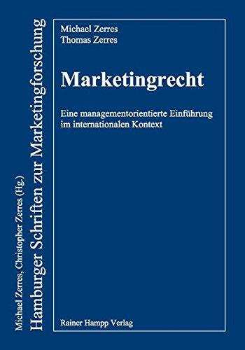 9783866186996: Marketingrecht