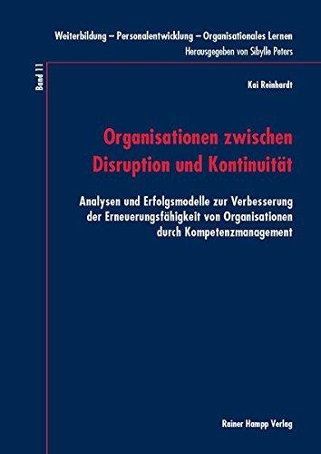 9783866188839: Organisationen zwischen Disruption und Kontinuität