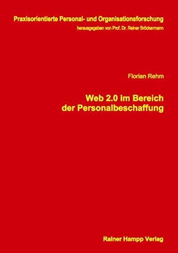 9783866188891: Web 2.0 im Bereich der Personalbeschaffung