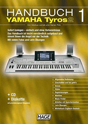 9783866260283: Yamaha Tyros 2, Handbuch 1