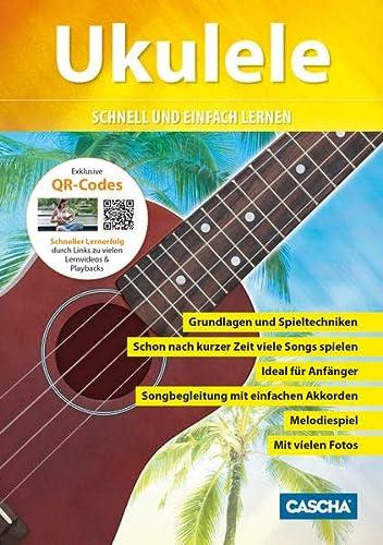 9783866261174: Ukuleleschule + CD + DVD