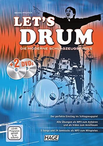 9783866261471: Let's Drum: Die moderne Schlagzeugschule. Der perfekte Einstieg ins Schlagzeugspiel, für den Schlagzeugunterricht und das Selbststudium, für Anfänger, ... und leicht fortgeschrittene Spieler