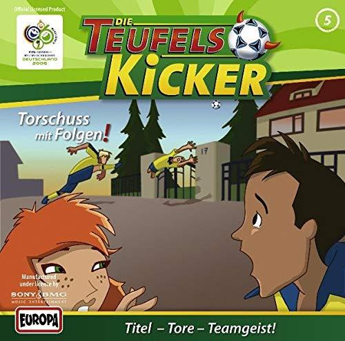 9783866290105: Die Teufelskicker - CD: Die Teufelskicker, Audio-CDs, Bd.5 : Torschuss mit Folgen, 1 Audio-CD: FOLGE 5