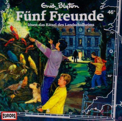 9783866295483: Fünf Freunde 46 lösen das Rätsel des Landschulheimes. CD