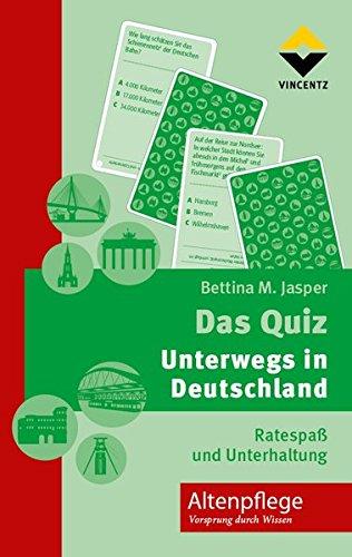 9783866303720: Das Quiz - Unterwegs in Deutschland: Ratespaß und Unterhaltung
