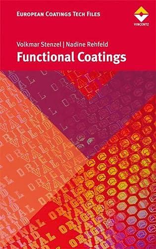 Functional Coatings: Stenzel, Volkmar