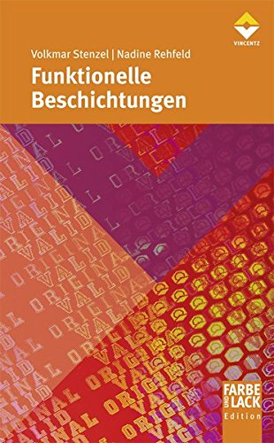 Funktionelle Beschichtungen: Volkmar Stenzel