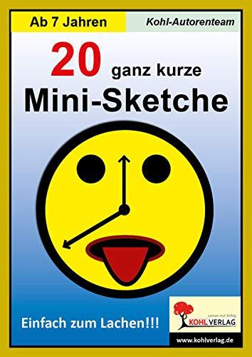9783866320666: 20 ganz kurze Mini-Sketche