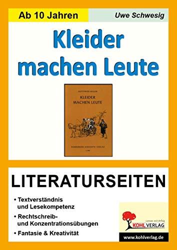 9783866321281: Kleider machen Leute / Literaturseiten: Textverstandnis - Freies schreiben - Kreativitat - Fantasie