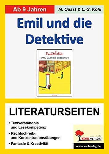 Emil und die Detektive, Literaturseiten