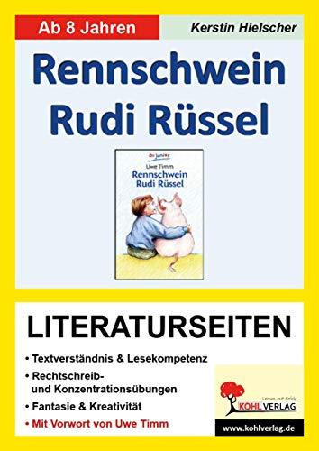 9783866321533: Rennschwein Rudi R�ssel / Literaturseiten: Literaturseiten mit L�sungen