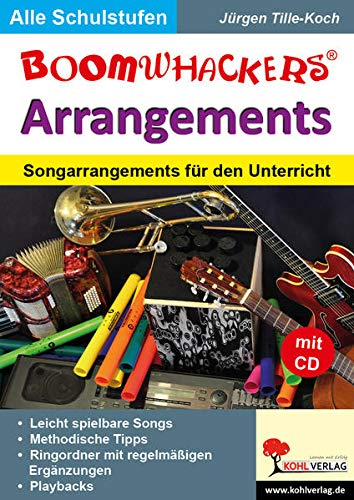 9783866326989: Boomwhackers-Arrangements