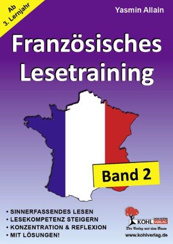 Französisches Lesetraining - Band 2 (ab 3. Lernjahr) - Yasmin Allain
