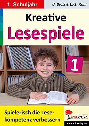 9783866327511: Kohls kreative Lesespiele 1. Schuljahr: Spielerisch lesen lernen im 1. Schuljahr