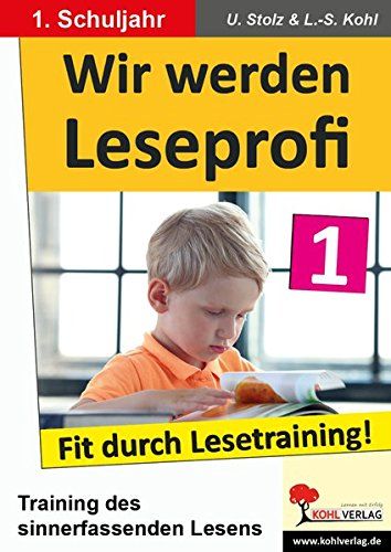 9783866327610: Wir werden Leseprofi - Fit durch Lesetraining! 1. Schuljahr
