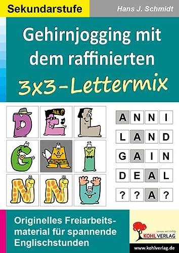 9783866329768: Gehirnjogging mit Kohls 3x3-Lettermix