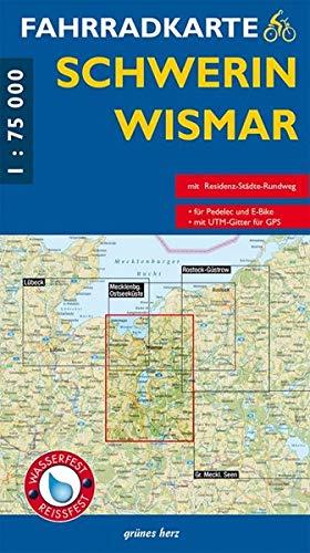 9783866360679: Fahrradkarte Schwerin - Wismar 1 : 75 000 Fahrradkarte