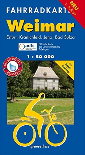 9783866360730: Weimar Fahrradkarte