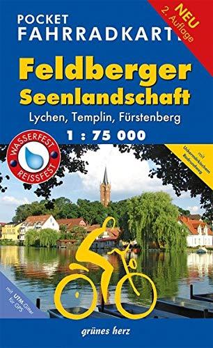 9783866360877: Feldberger Seenlandschaft Pocket Fahrradkarte 1 : 75 000
